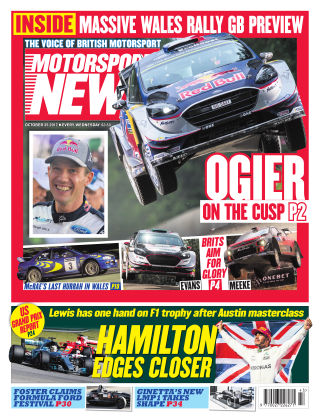 Motorsport News 25th October 2017