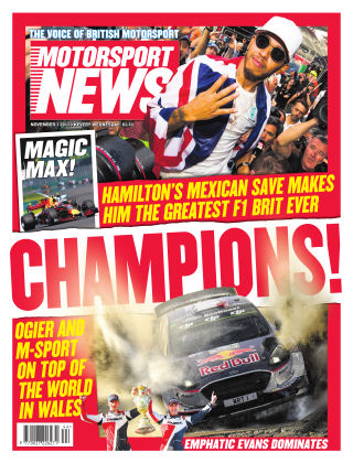 Motorsport News 1st November 2017