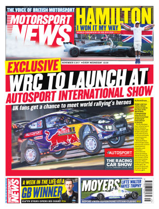 Motorsport News 8th November 2017