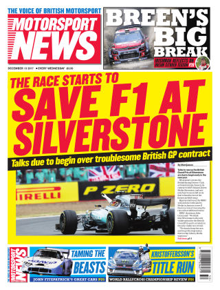 Motorsport News 13th December 2017