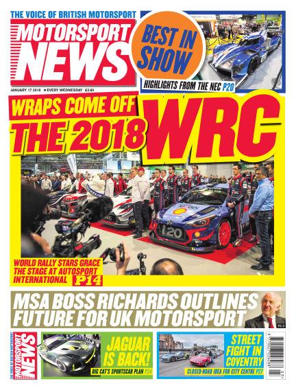 Motorsport News January 17, 2018 00:00
