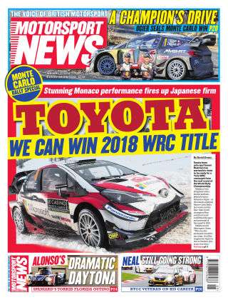Motorsport News 31st January 2018