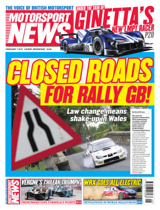 Motorsport News 7th February 2018