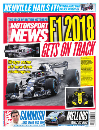 Motorsport News 21st February 2018
