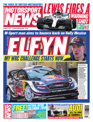 Motorsport News 7th March 2018