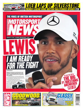 Motorsport News 21st March 2018