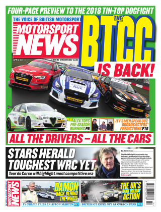 Motorsport News 4th April 2018