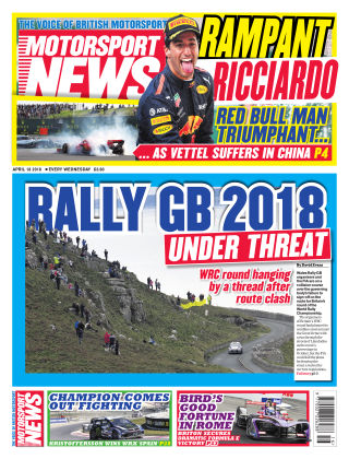 Motorsport News 18th April 2018