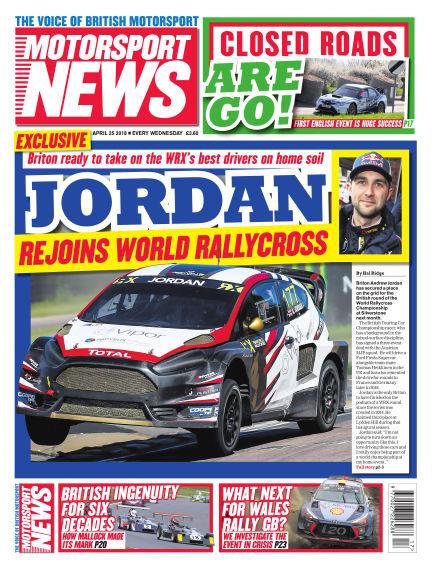 Motorsport News April 25, 2018 00:00