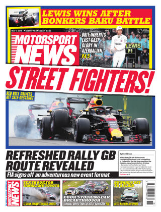 Motorsport News 2nd May 2018