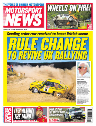 Motorsport News 9th May 2018