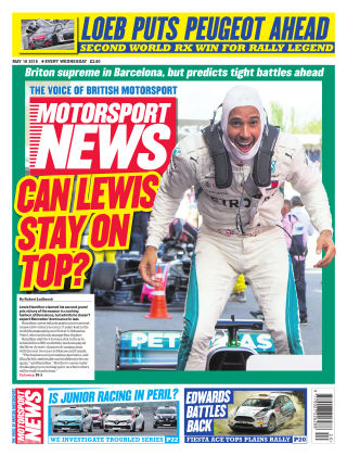 Motorsport News 16th May 2018