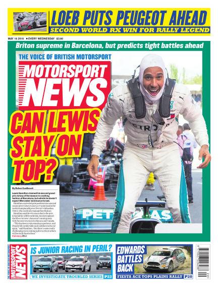 Motorsport News May 16, 2018 00:00