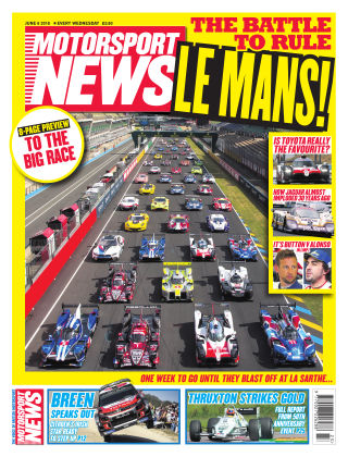 Motorsport News 6th June 2018