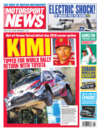 Motorsport News 4th July 2018