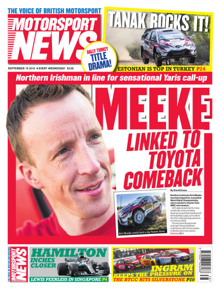 Motorsport News September 19, 2018 00:00