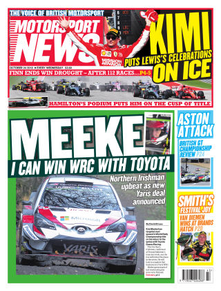 Motorsport News 24th October 2018