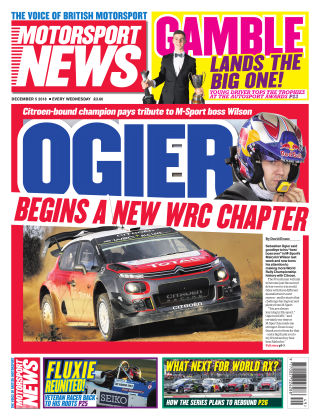 Motorsport News 5th December 2018