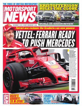 Motorsport News 12th December 2018