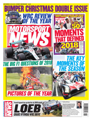Motorsport News 19th December 2018