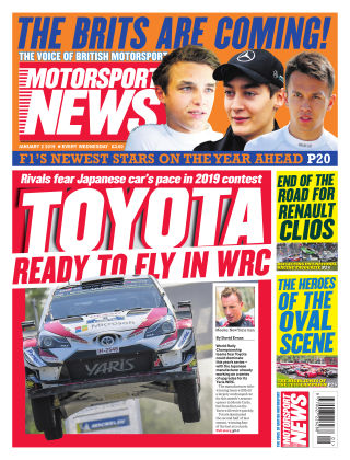 Motorsport News 2nd January 2019