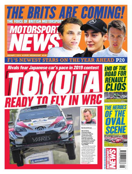Motorsport News January 02, 2019 00:00