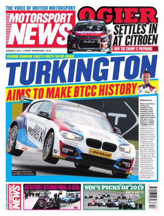 Motorsport News 9th January 2019