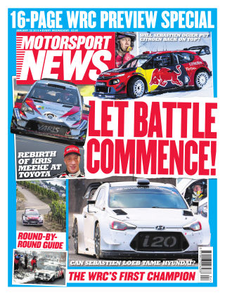 Motorsport News 23rd January 2019