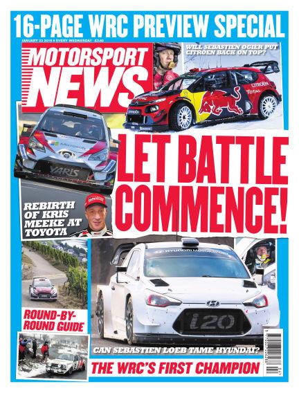 Motorsport News January 23, 2019 00:00