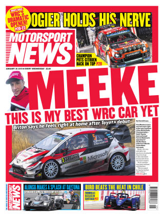 Motorsport News 30th January 2019