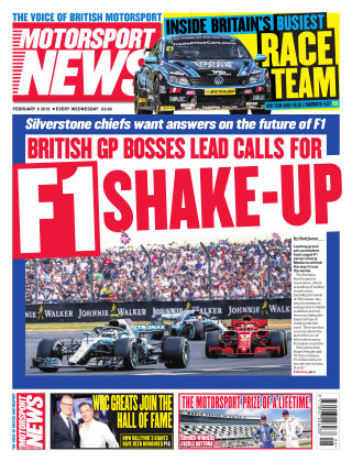 Motorsport News 6th February 2019