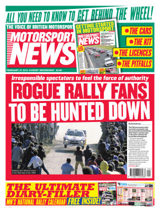 Motorsport News 27th February 2019