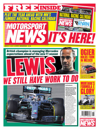 Motorsport News 13th March 2019