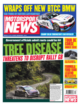 Motorsport News 27th March 2019