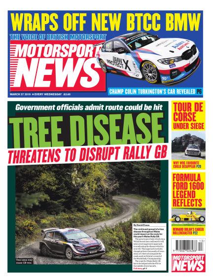 Motorsport News March 27, 2019 00:00