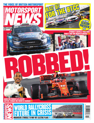 Motorsport News 3rd April 2019