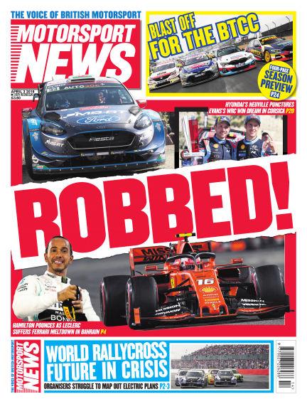 Motorsport News April 03, 2019 00:00