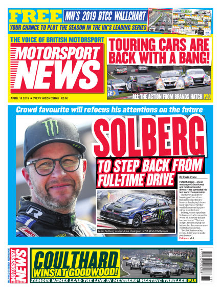 Motorsport News April 10, 2019 00:00