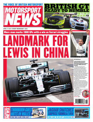 Motorsport News 17th April 2019
