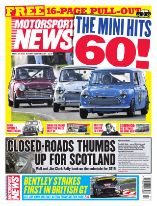 Motorsport News 24th April 2019