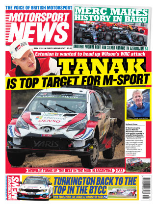 Motorsport News 1st May 2019