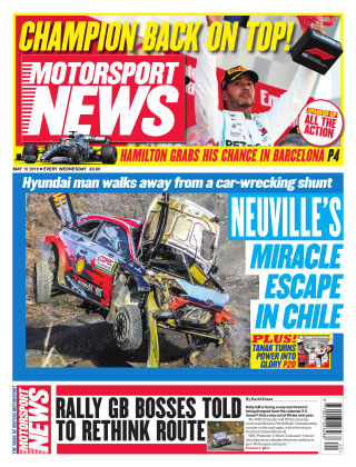 Motorsport News 15th May 2019