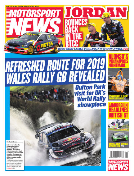 Motorsport News May 22, 2019 00:00