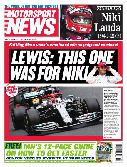 Motorsport News May 29, 2019 00:00