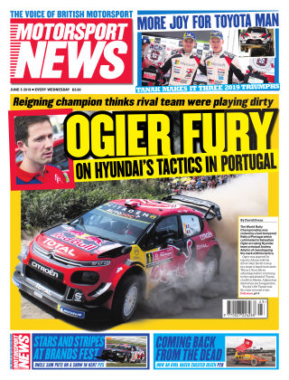 Motorsport News 5th June 2019