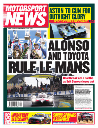 Motorsport News 19th June 2019