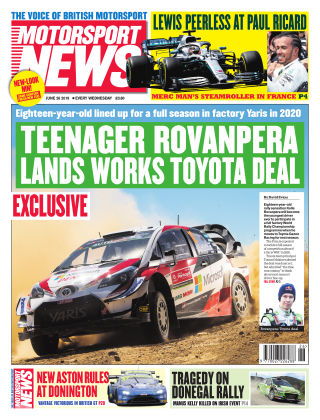 Motorsport News 26th June 2019