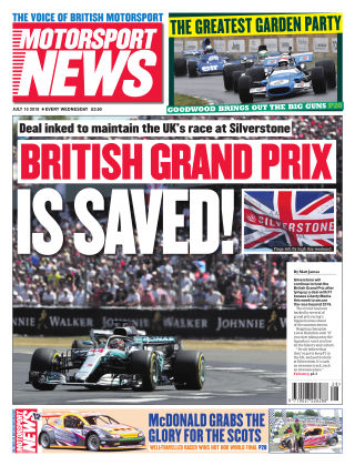 Motorsport News 10th July 2019