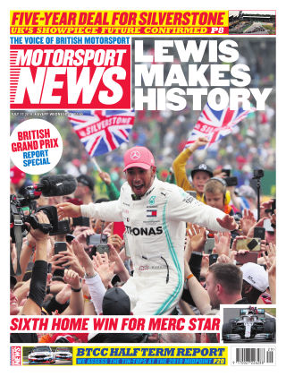 Motorsport News 17th July 2019