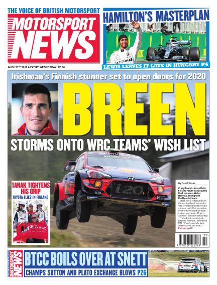 Motorsport News August 07, 2019 00:00